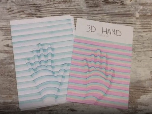 3D Hand Drawing - It's easy and fun to do!